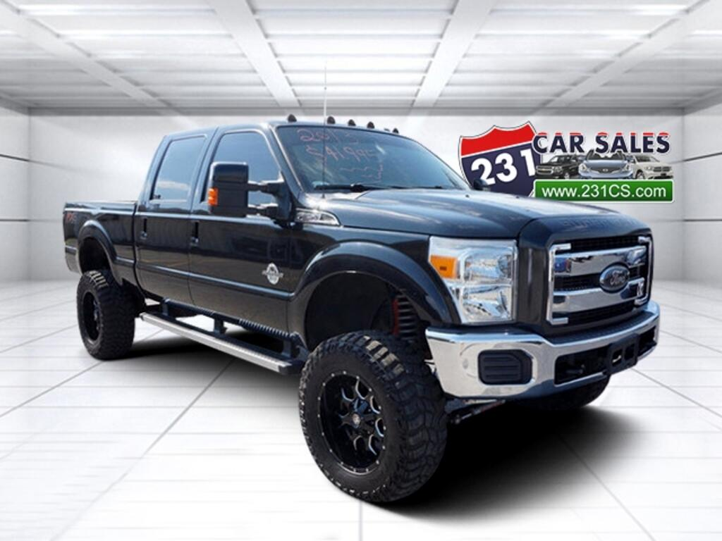 2013 Ford F-250 SD Crew Cab Lariat FX4 6in Lift