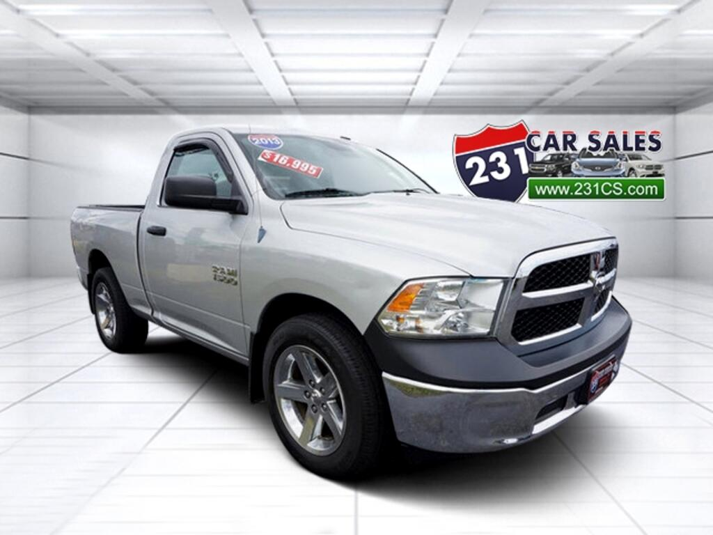 2013 RAM 1500 Regular Cab 4x2 Tradesman