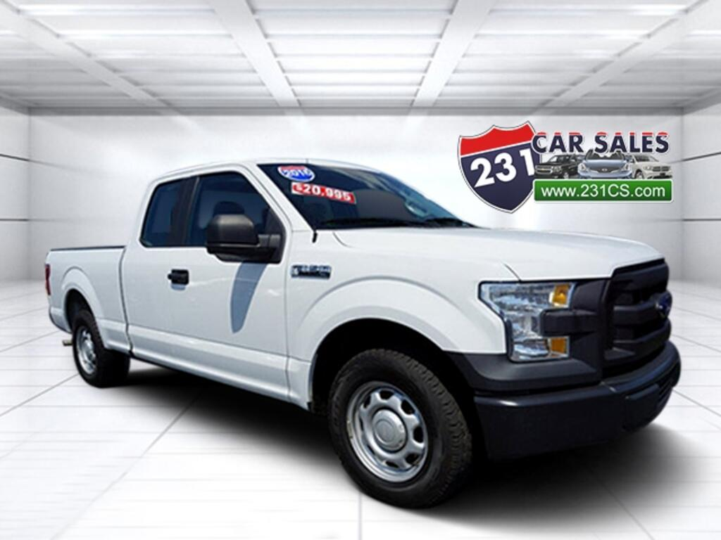 2016 Ford F-150 Super Cab XL 4x2 V6