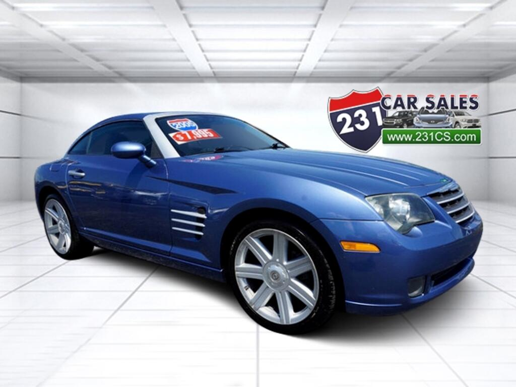 2005 Chrysler Crossfire Limited 3.2L V6 Coupe