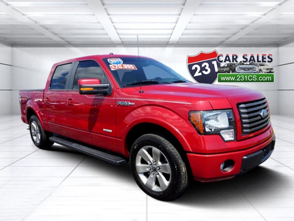 2011 Ford F-150 SuperCrew FX2 3.5L Ecoboost