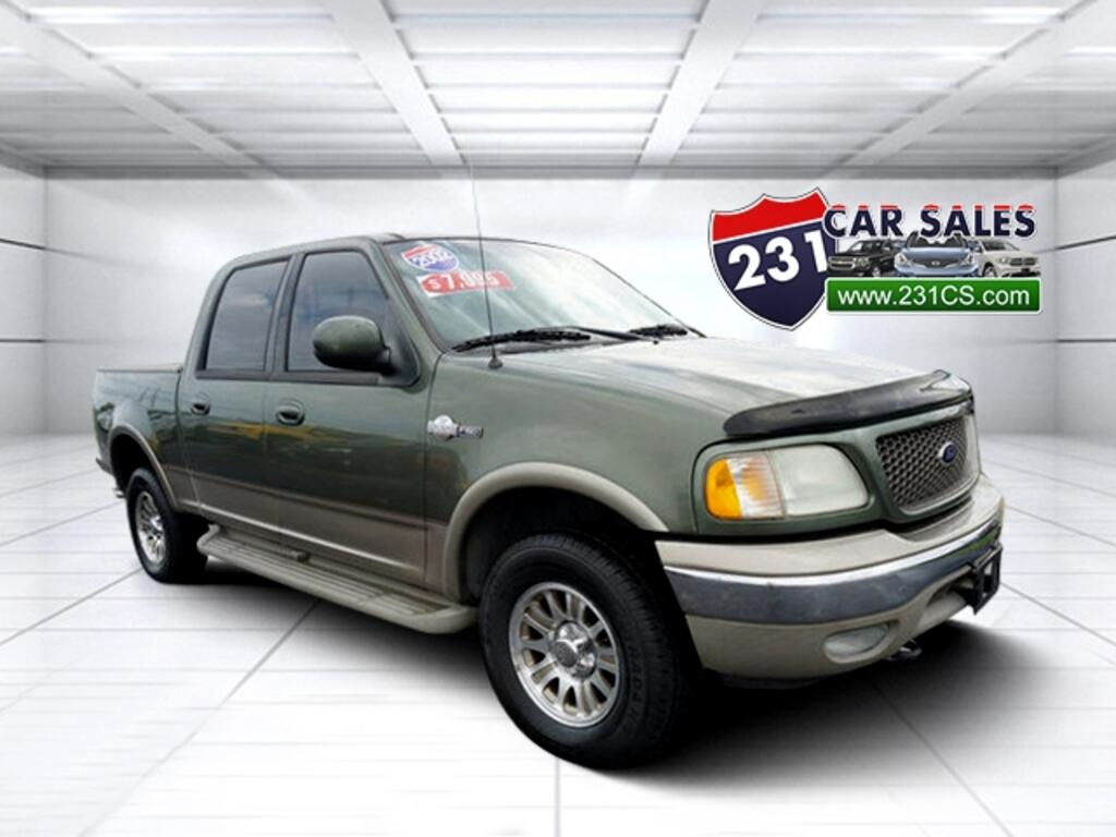 2002 Ford F-150 SuperCrew King Ranch 4x4