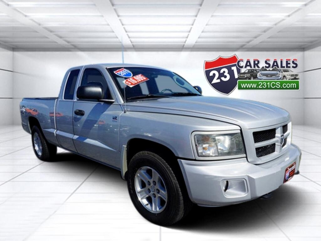 2011 RAM Dakota Ext Cab Big Horn 4.7L V8 4x4