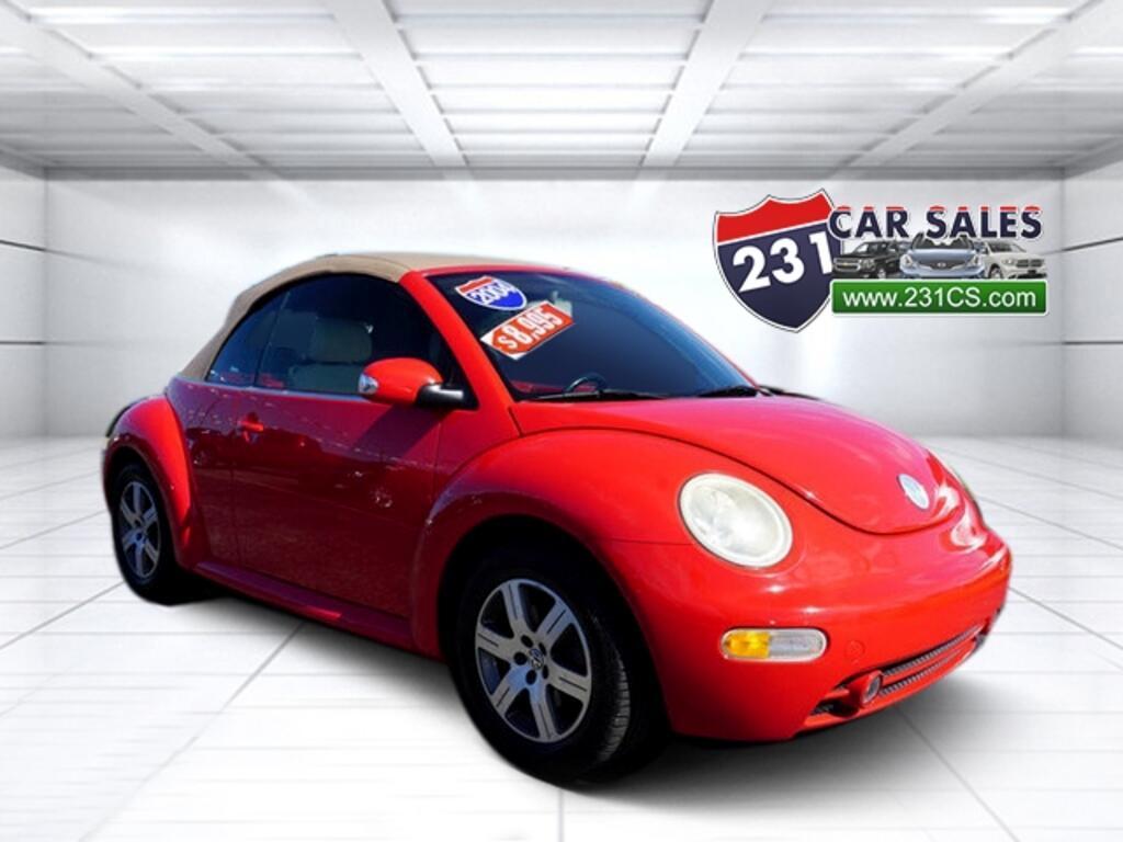 2004 Volkswagen New Beetle GLS Turbo Convertible