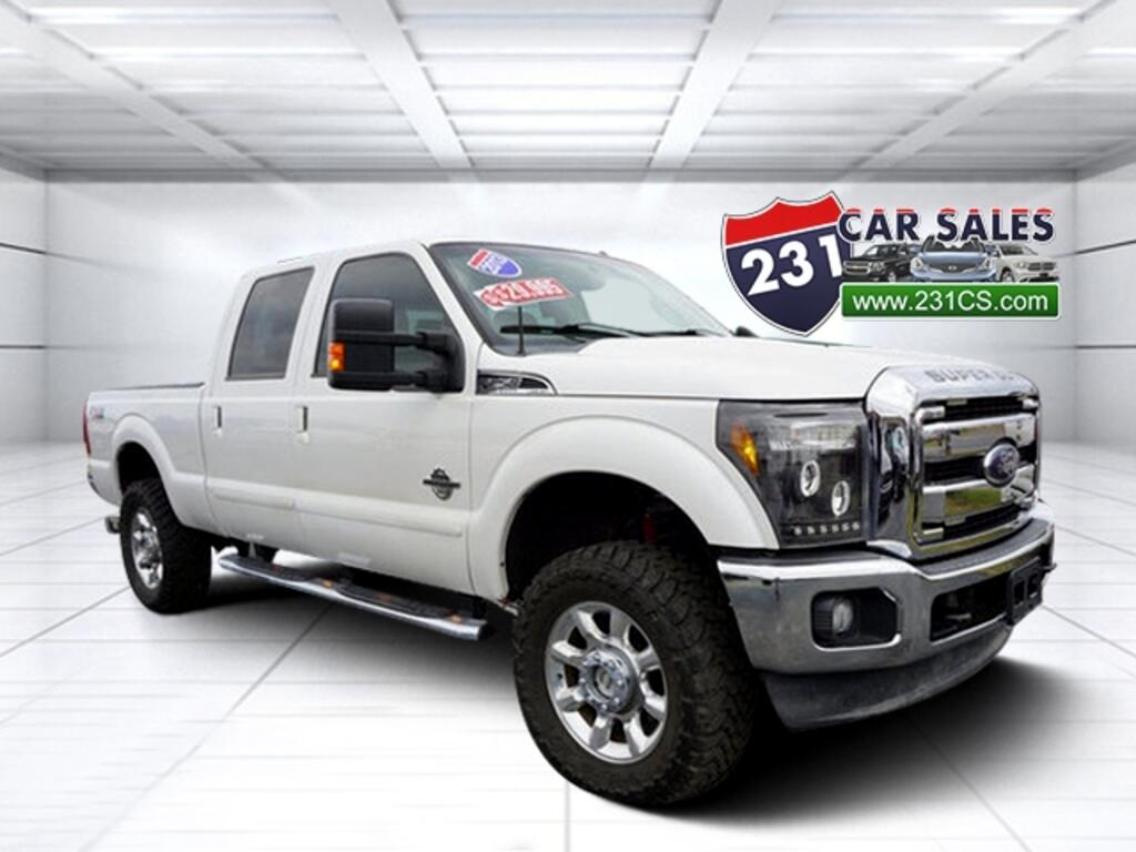 2013 Ford F-250 SD Lariat 4WD 156WB