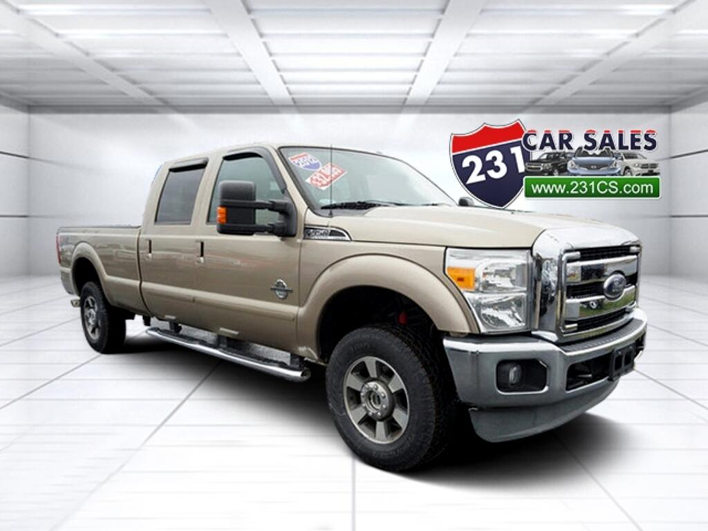 2012 Ford F-350 SD Lariat 4WD 172WB