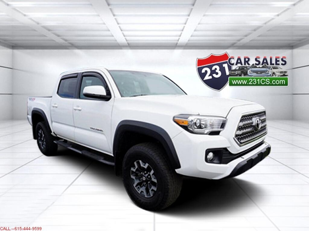 2017 Toyota Tacoma TRD Off Road 4WD