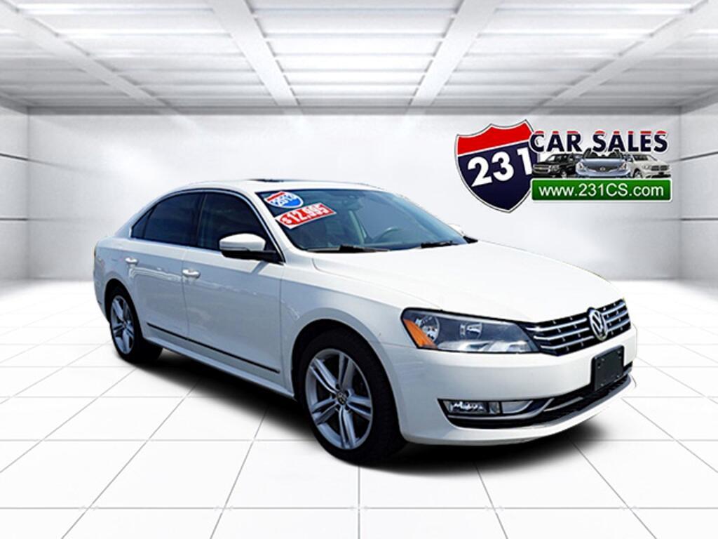 2013 Volkswagen Passat 2.0 TDI SEL Premium