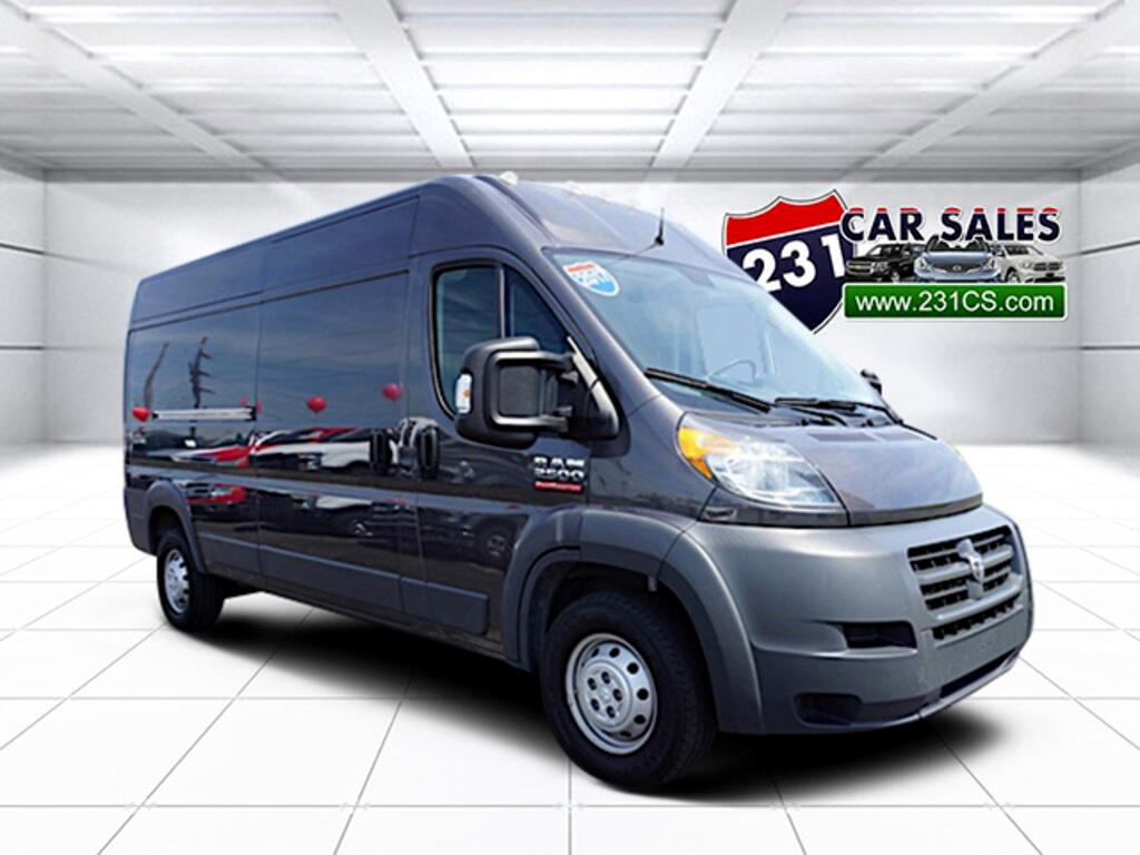 2017 RAM Promaster 2500 High Roof 159WB