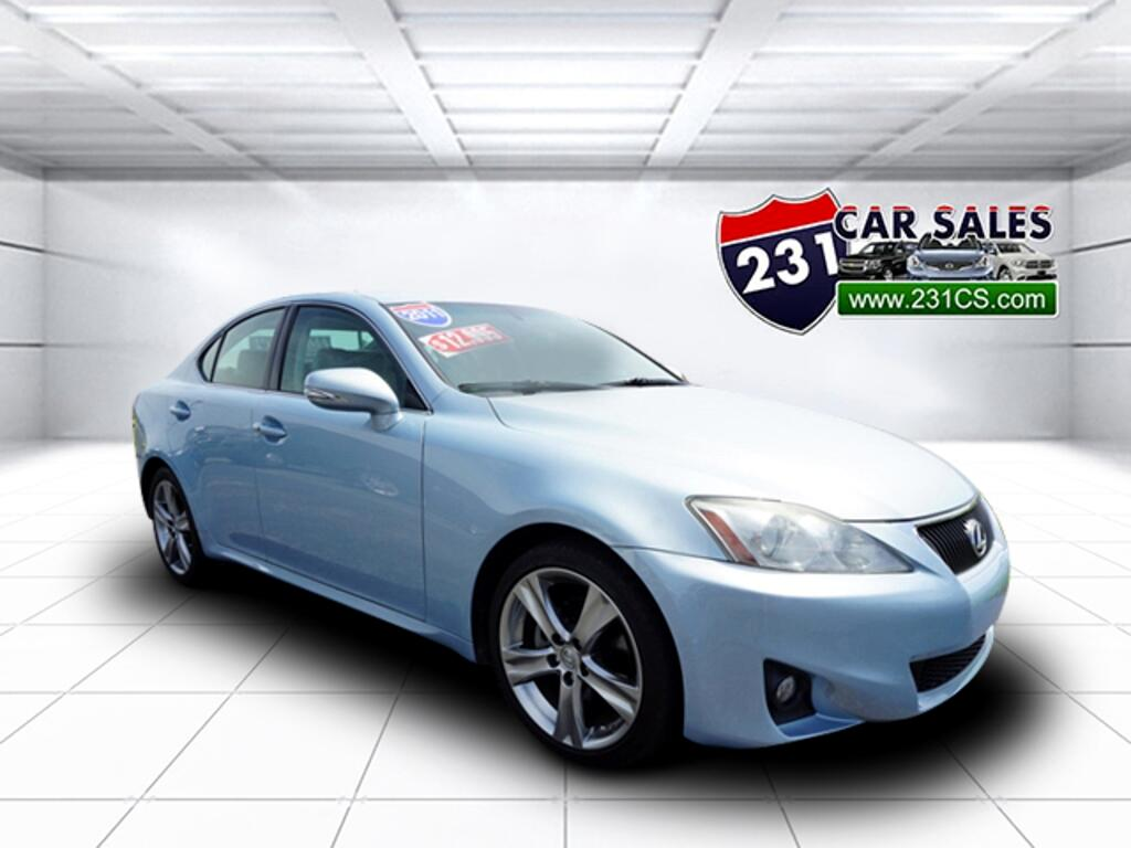 2011 Lexus IS RWD