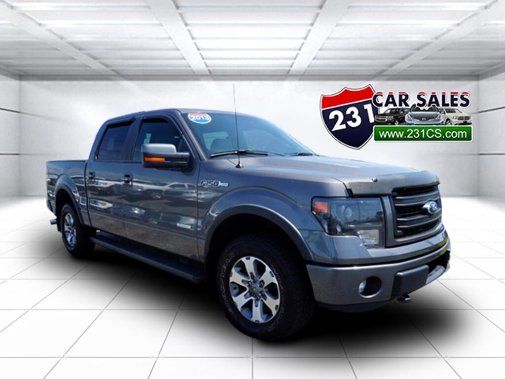 2013 Ford F-150 FX4 4WD 145WB