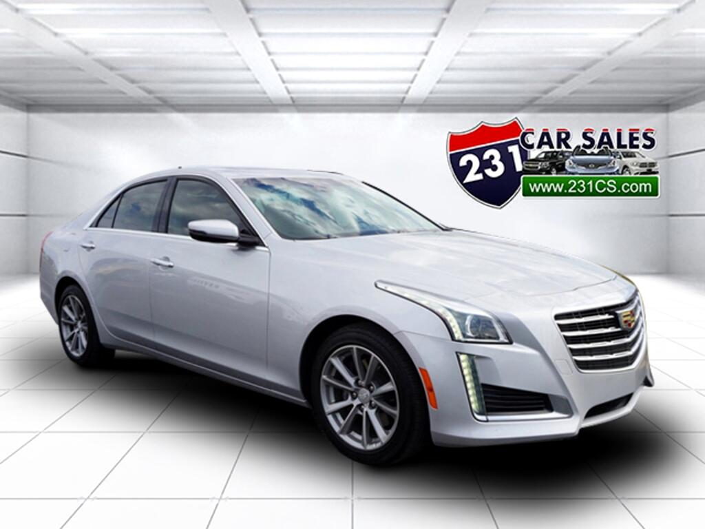 2017 Cadillac CTS Turbo Luxury RWD