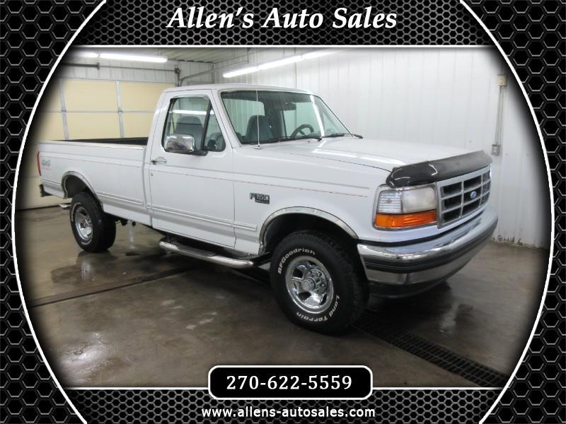 Ford F-150 S Reg. Cab Short Bed 4WD 1994