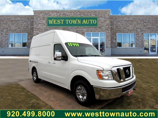 Nissan NV High Roof 3500 V8 SV 2014