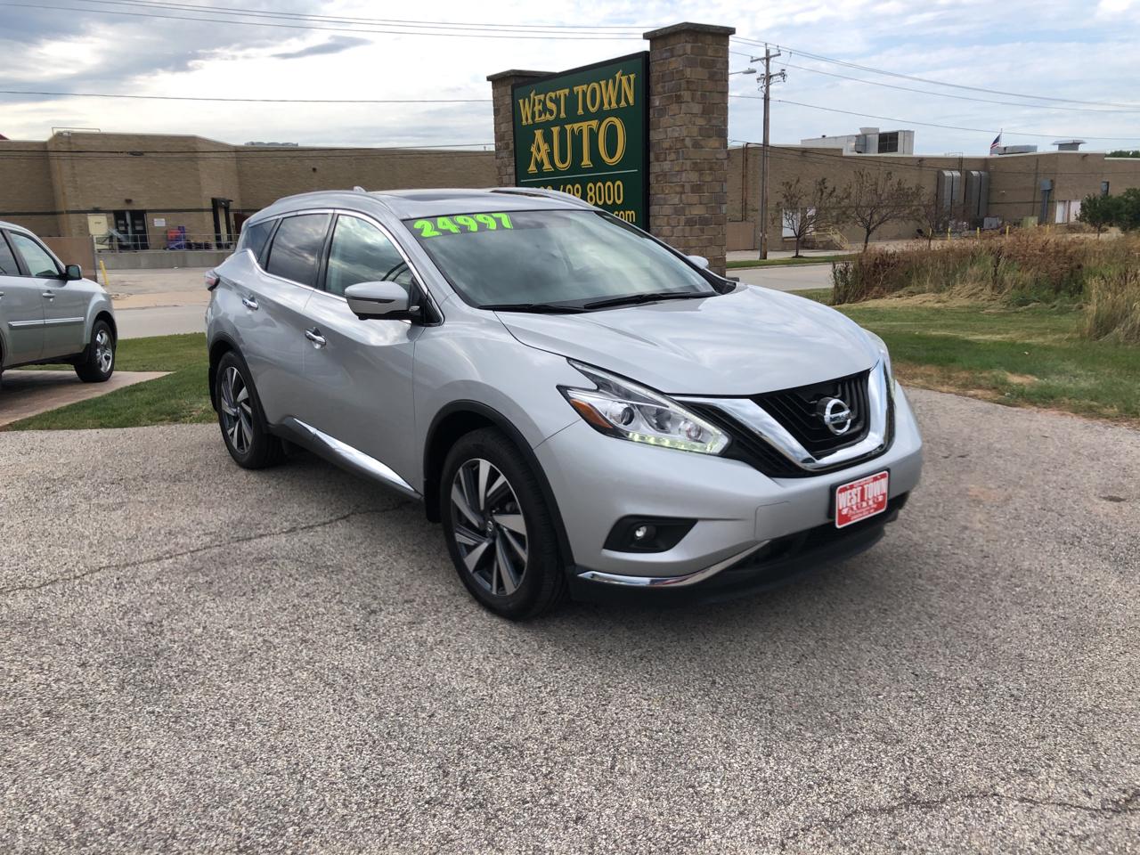 Nissan Murano FWD Platinum 2018