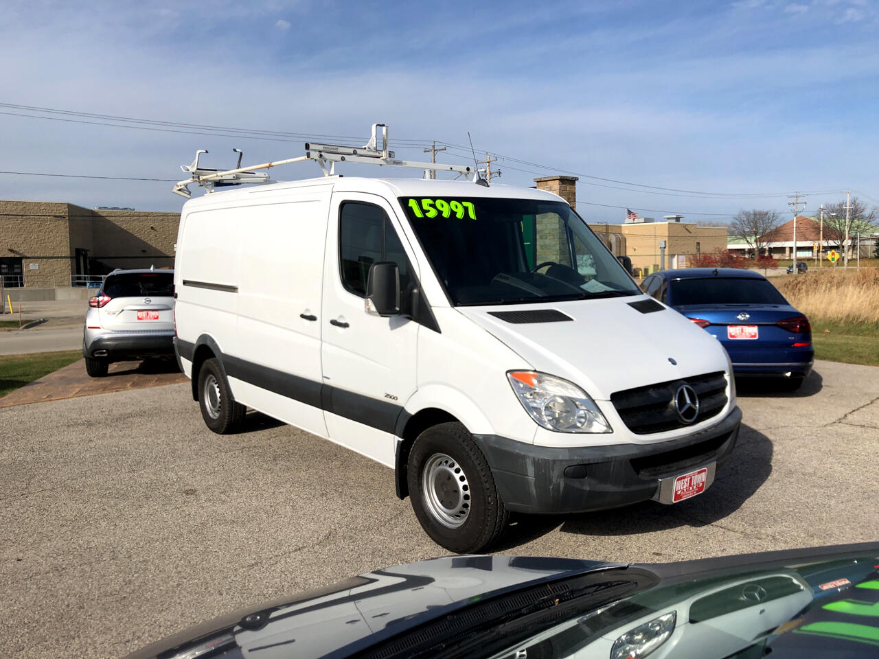 "Mercedes-Benz Sprinter Cargo Vans 2500 144"" 2012"
