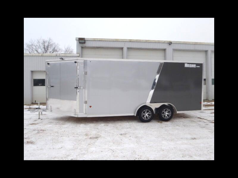 2019 Mission Enclosed Toy Hauler Package Trailer