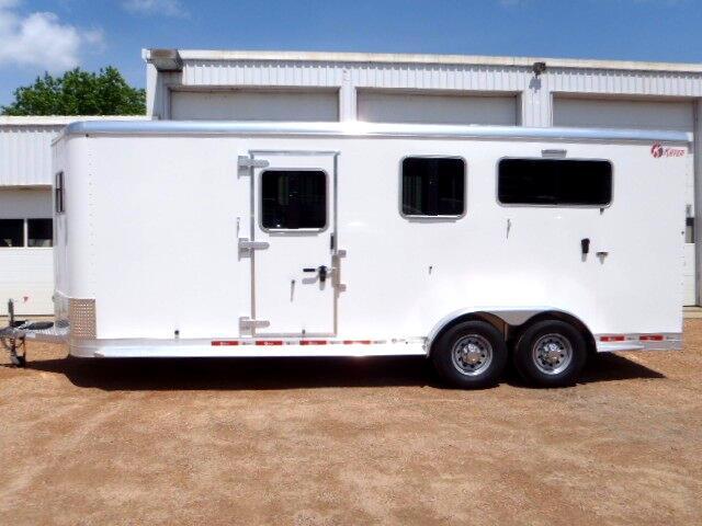 2017 Kiefer Manufacturing 3 Horse BP GENESIS 2+1