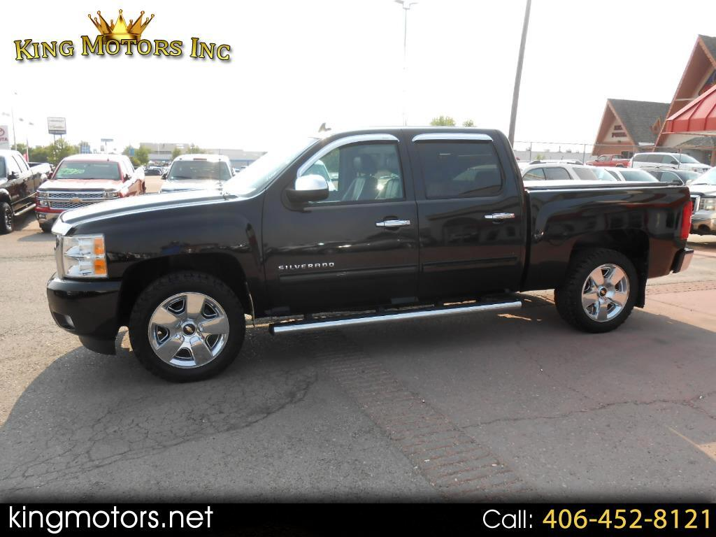 Used 2011 Chevrolet Silverado 1500 4wd Crew Cab 143 5 U0026quot  Ltz For Sale In Great Falls Mt 59405 King