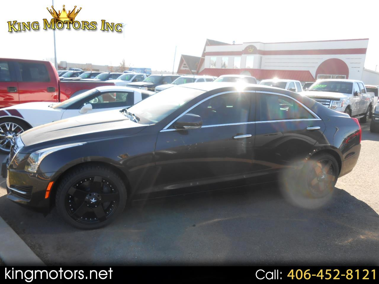 2015 Cadillac ATS Sedan 4dr Sdn 3.6L Luxury AWD