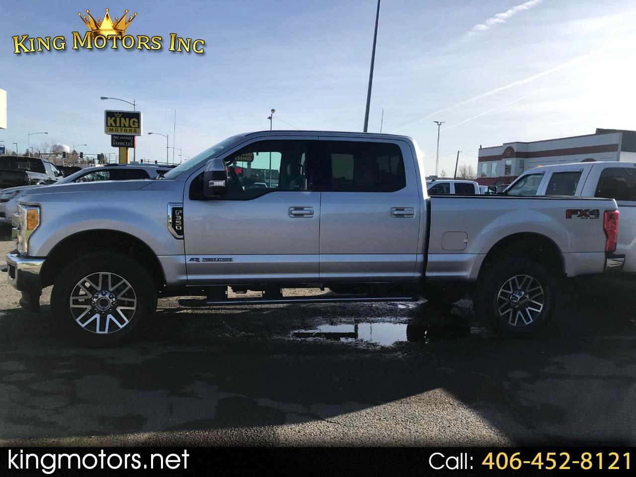 2017 Ford Super Duty F-350 SRW Lariat 4WD Crew Cab 6.75' Box
