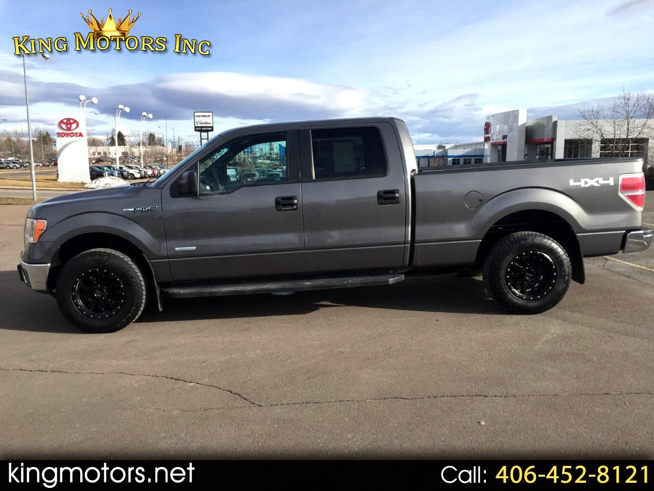 2012 Ford F-150 4WD SuperCrew 145