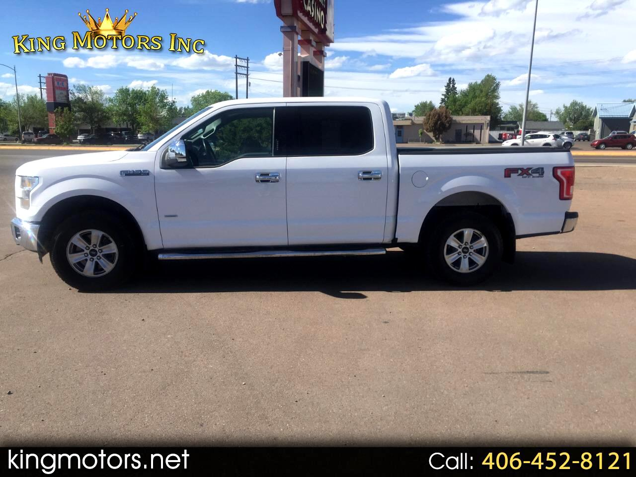 2015 Ford F-150 4WD SUPERCREW XLT/FX4
