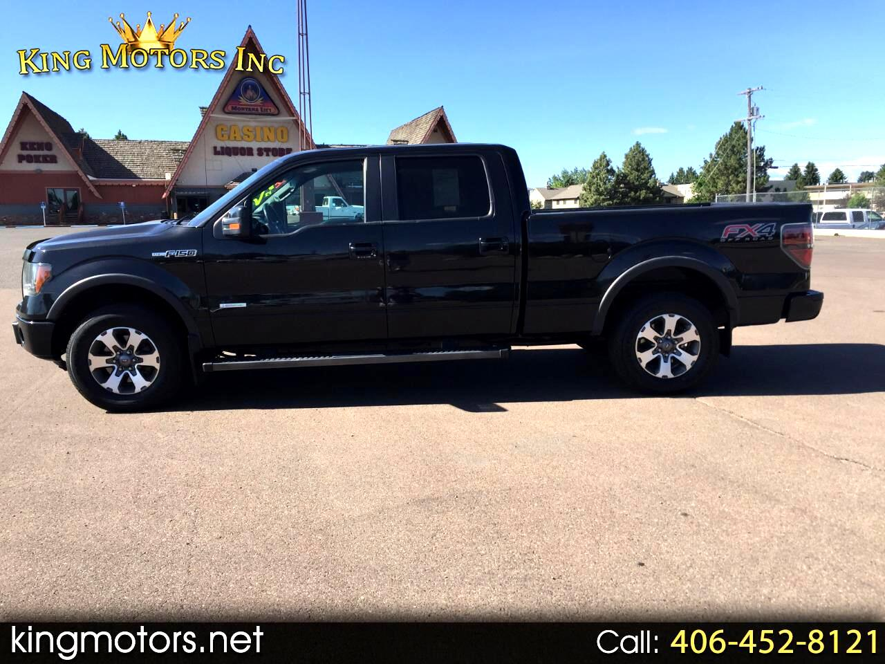 2014 Ford F-150 4WD SUPERCREW 6.5' FX4