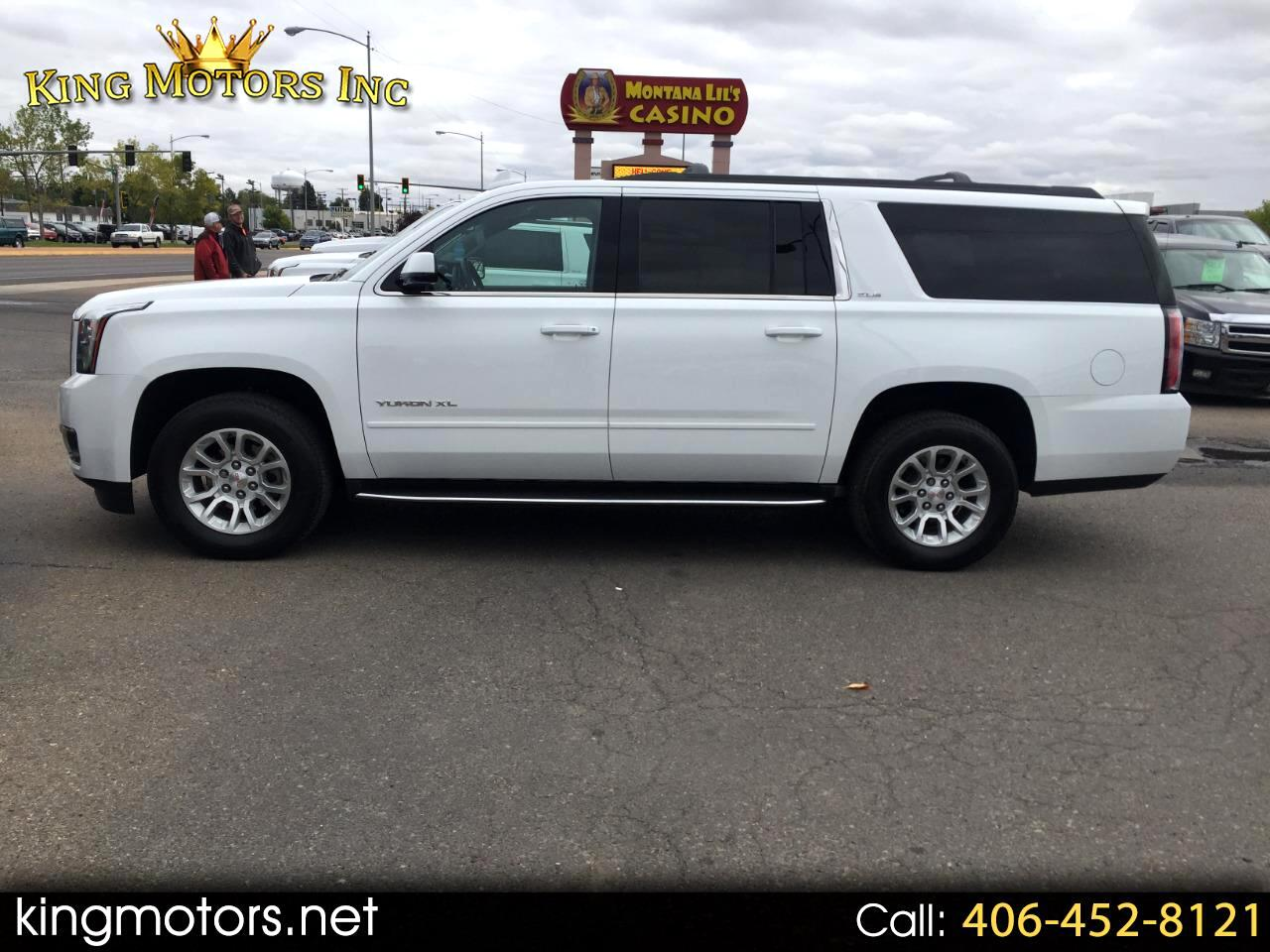 Used 2018 Gmc Yukon Xl 4wd 4dr Sle For Sale In Great Falls