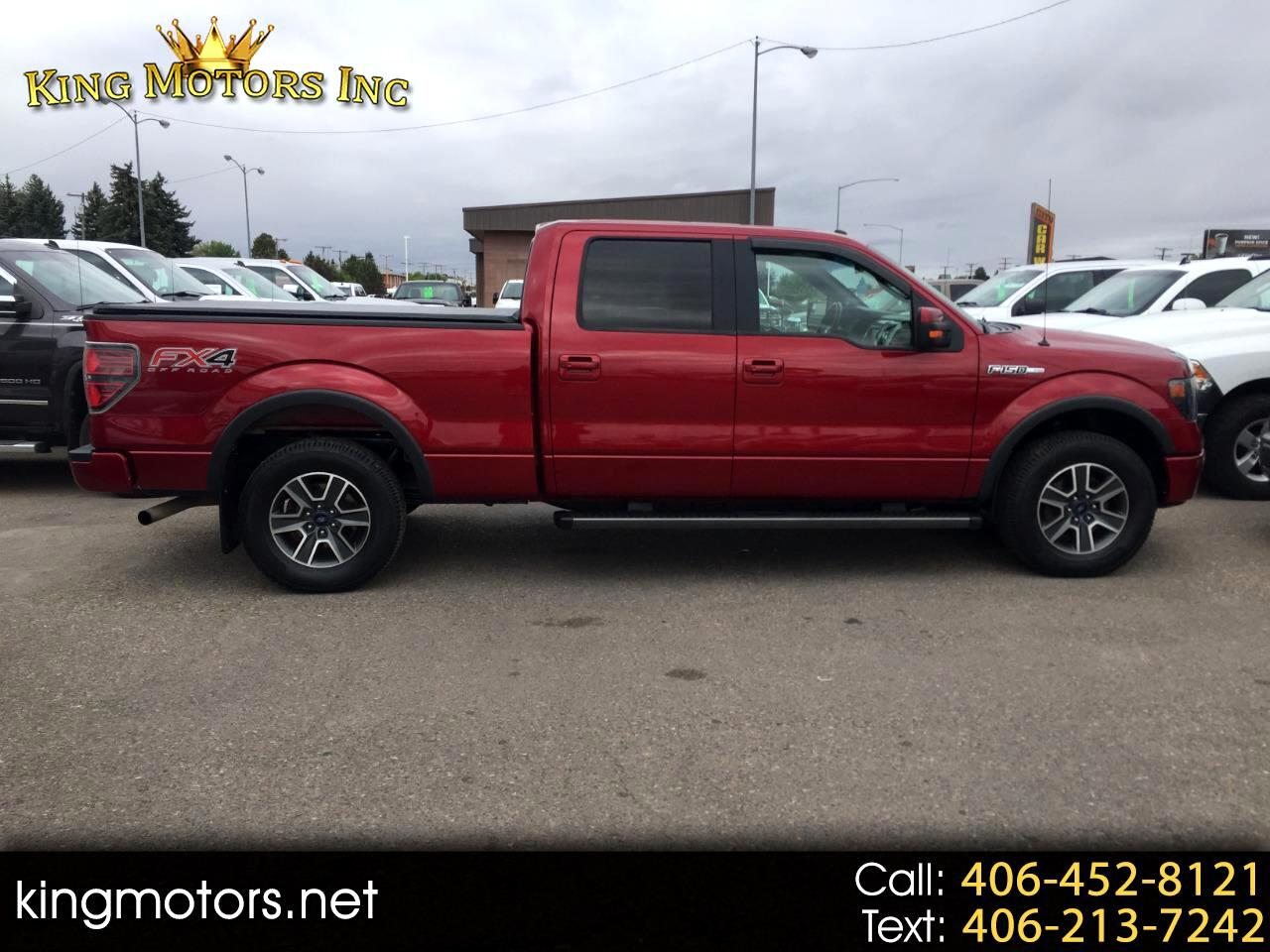 "Ford F-150 4WD SuperCrew 150"" FX4 2014"
