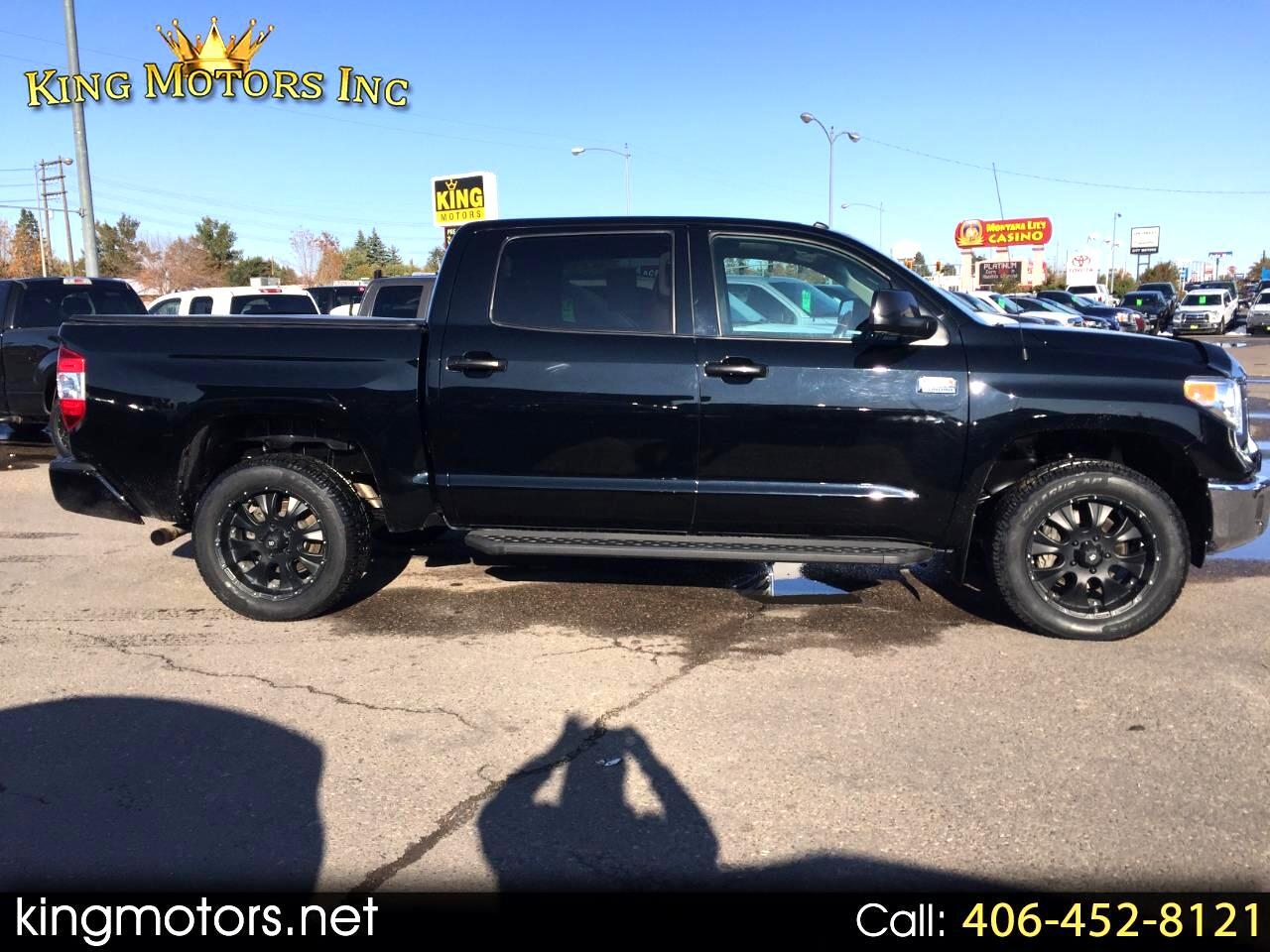 Toyota Tundra 4WD Truck CrewMax 5.7L V8 6-Spd AT 1794 (Natl) 2016