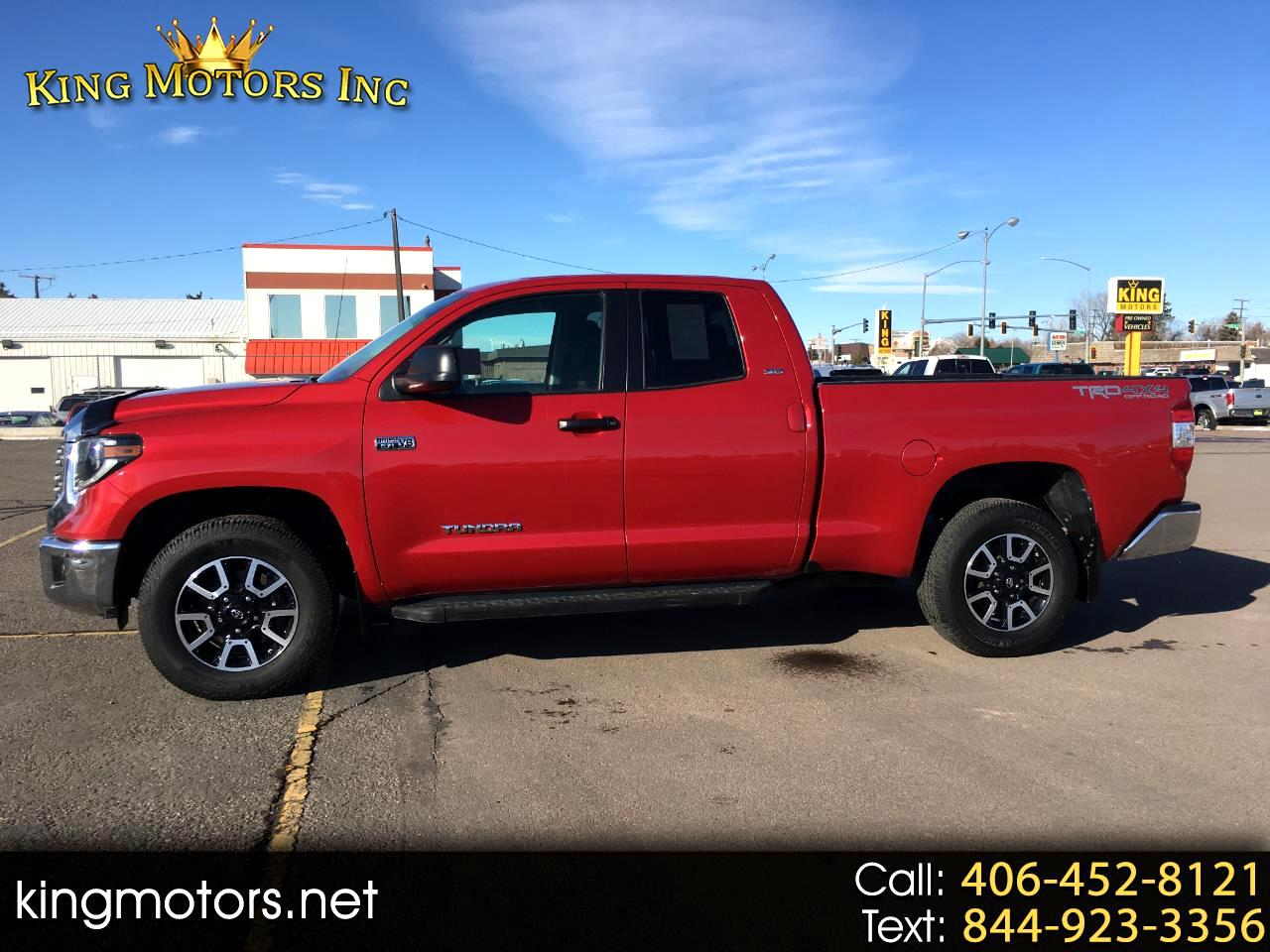 Toyota Tundra 4WD SR5 Double Cab 6.5' Bed 5.7L (Natl) 2019
