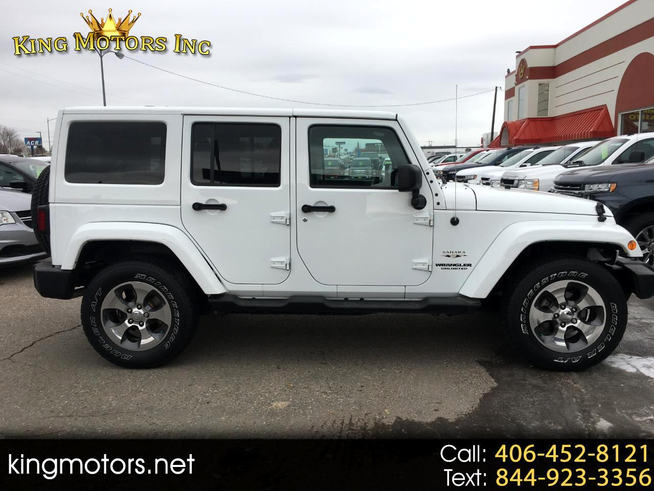 Jeep Wrangler Unlimited 4WD 4dr Sahara 2016