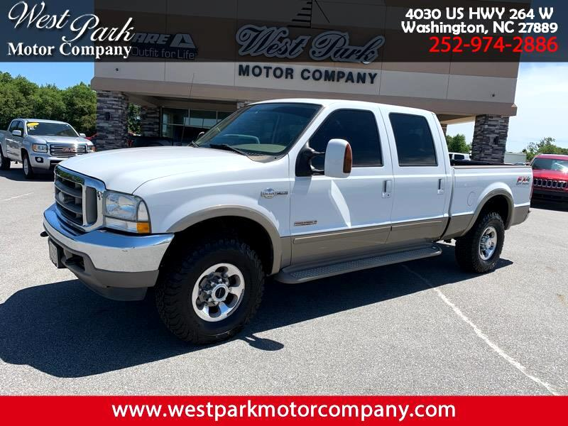 2003 Ford F-250 SD King Ranch Crew Cab 4WD