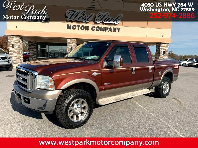 Ford F-250 SD King Ranch Crew Cab 4WD 2006