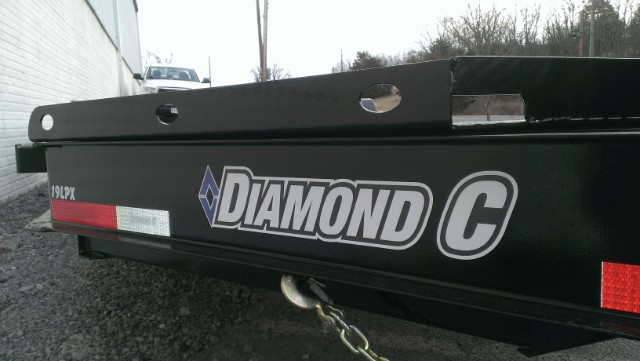 2019 Diamond C Equipment Trailer Extreme Duty 20' 15k- $153 for 48 months