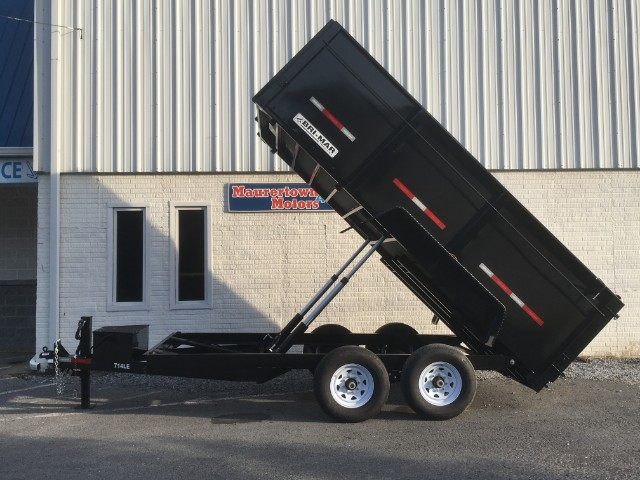 2019 Bri-Mar Low Profile Dump Trailer 14' High Side 14k- $221 for 48 months