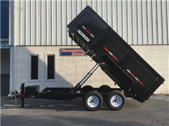 2019 Bri-Mar Low Profile Dump Trailer