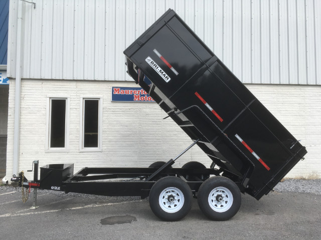 "2019 Bri-Mar Low Profile Dump Trailer 6x12 12k 44"" Sides- $177 for 48 months"