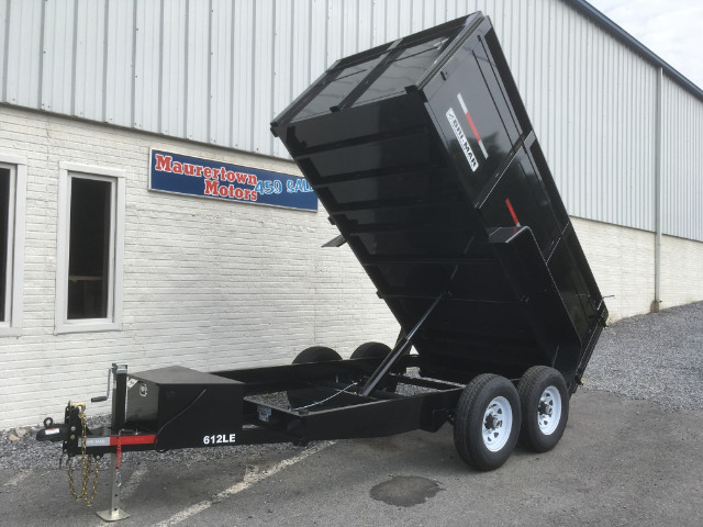 Bri-Mar Low Profile Dump Trailer  2019