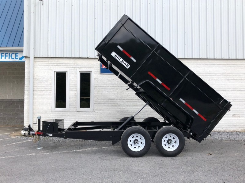 "2019 Bri-Mar Low Profile Dump Trailer 7x12 12k 44"" Sides"