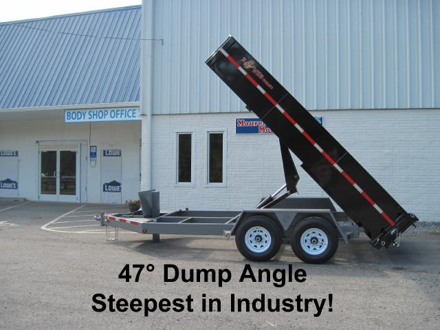 2019 BWise HD Dump Trailer 82x14 15k- $238 for 48 months