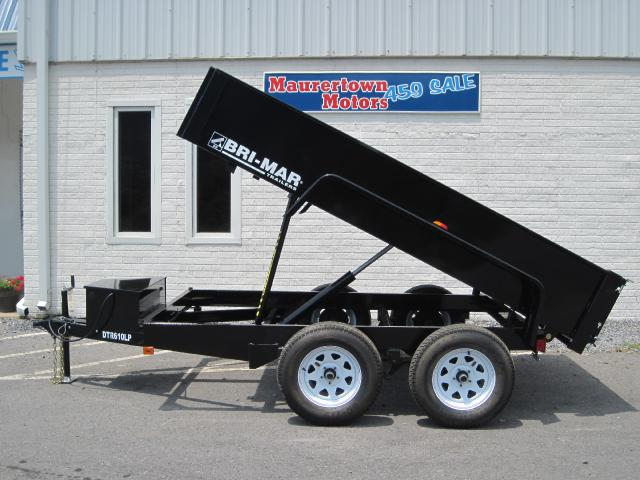 2019 Bri-Mar Rascal Dump Trailer 6x10 7k- $113 for 48 months