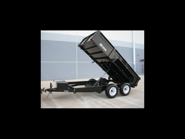 2019 Bri-Mar Low Profile Dump Trailer 6x12 10k- $154 for 48 months