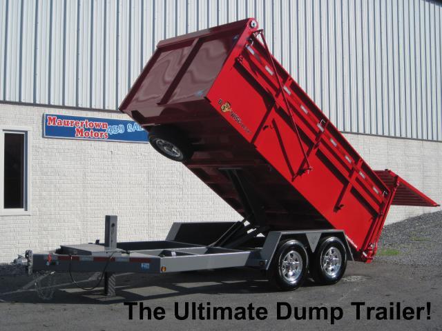 201 BWise Ultimate Dump Trailer 82x14 15k