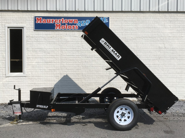 2019 Bri-Mar Rascal Dump Trailer 5x8 3k- $83 for 48 months