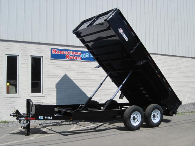 2019 Bri-Mar Low Profile Dump Trailer 7x14 14k- $194 for 48 months
