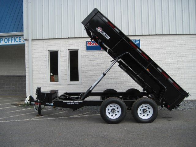 2019 Bri-Mar Low Profile Dump Trailer 7x12 14k- $188 for 48 months