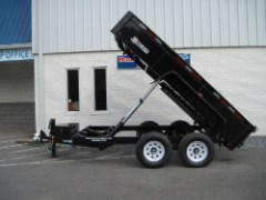 2020 Bri-Mar Low Profile Dump Trailer