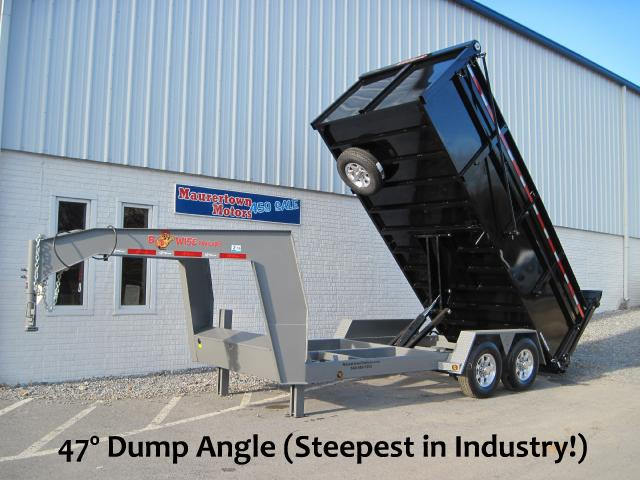 2019 BWise HD Gooseneck Dump Trailer Ultimate Model